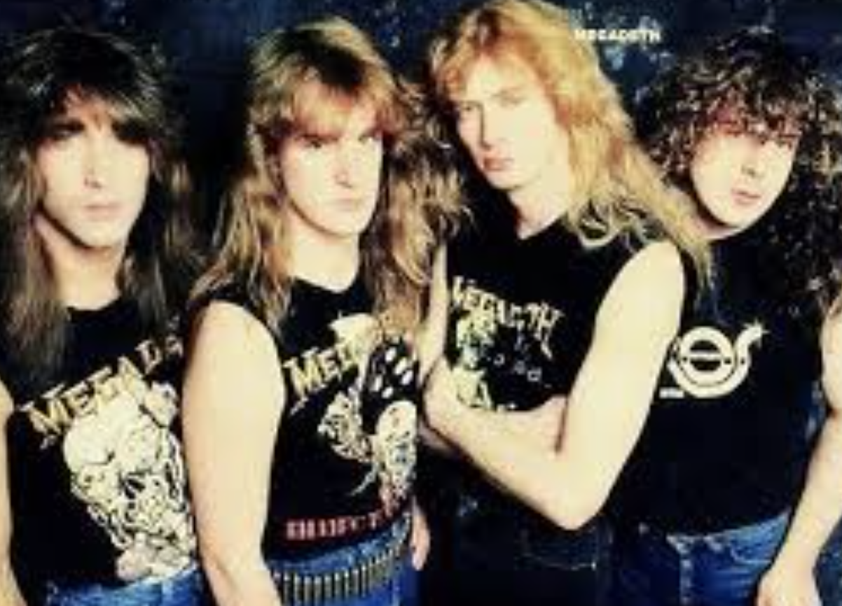 MEGADETH BAND PHOTO