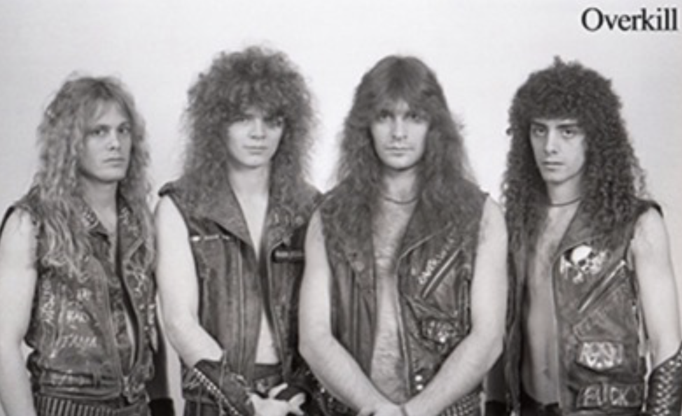 overkill band 1980s old school thrash metal
