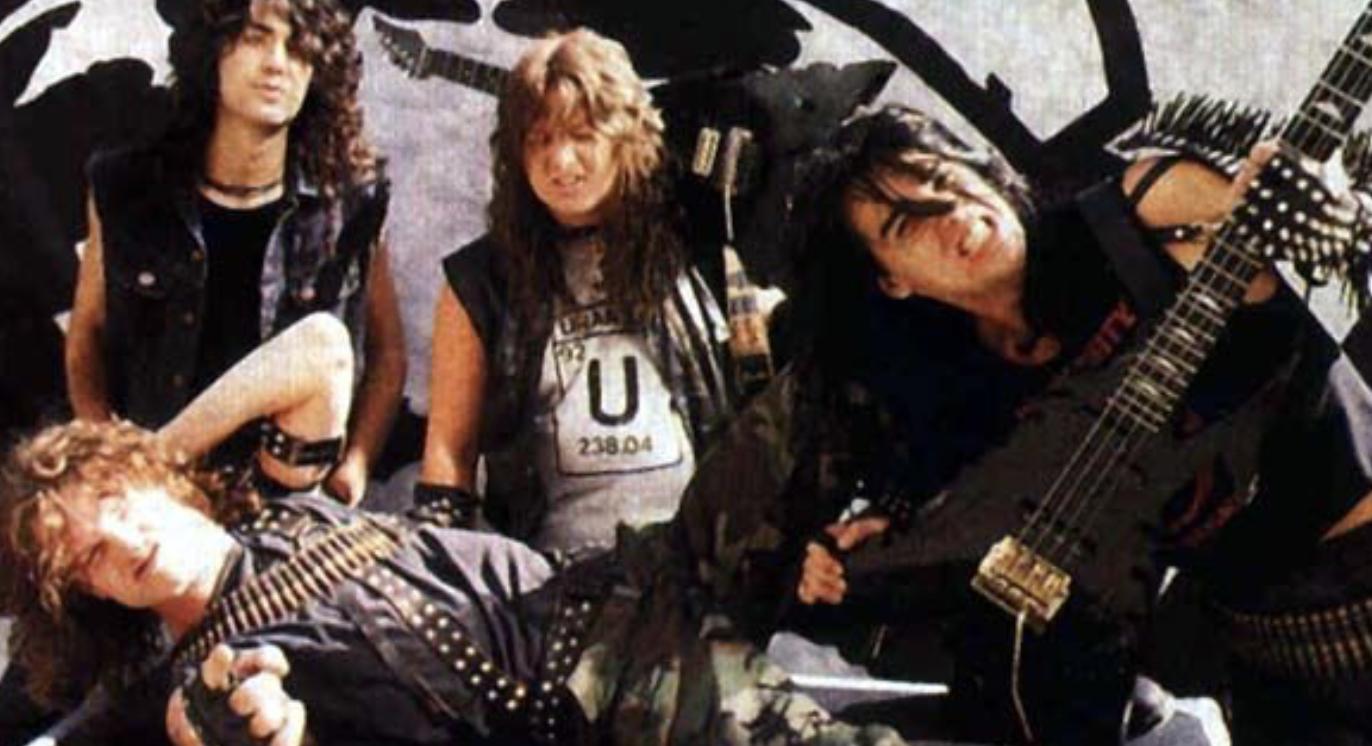 Voivod band photo 1985