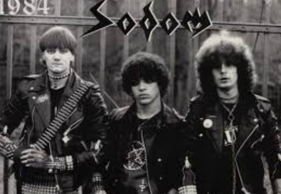sodom German thrash band 1983