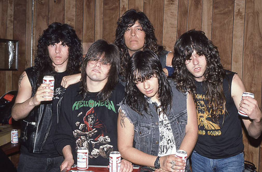 testament tthelegacy band photo 1987