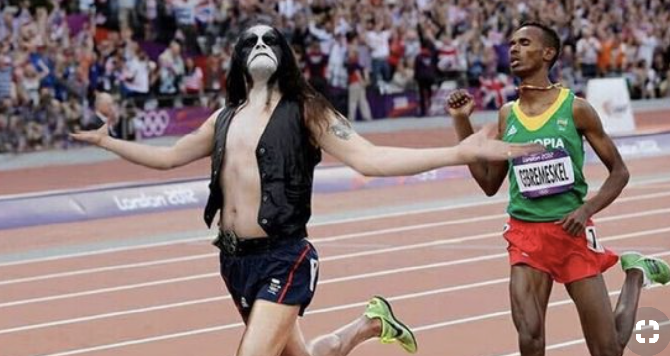black metal Olympics heavy metal meme