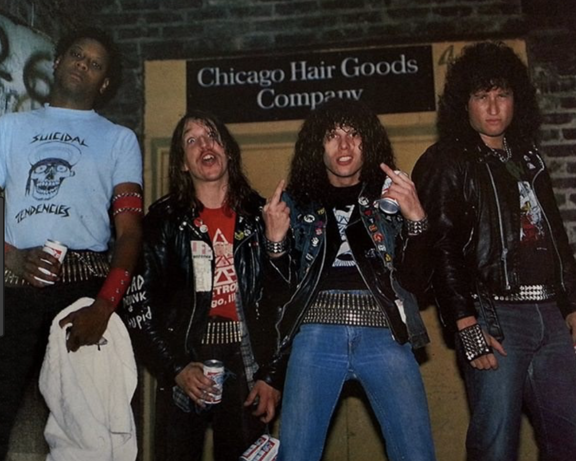 Zoetrope thrash metal band