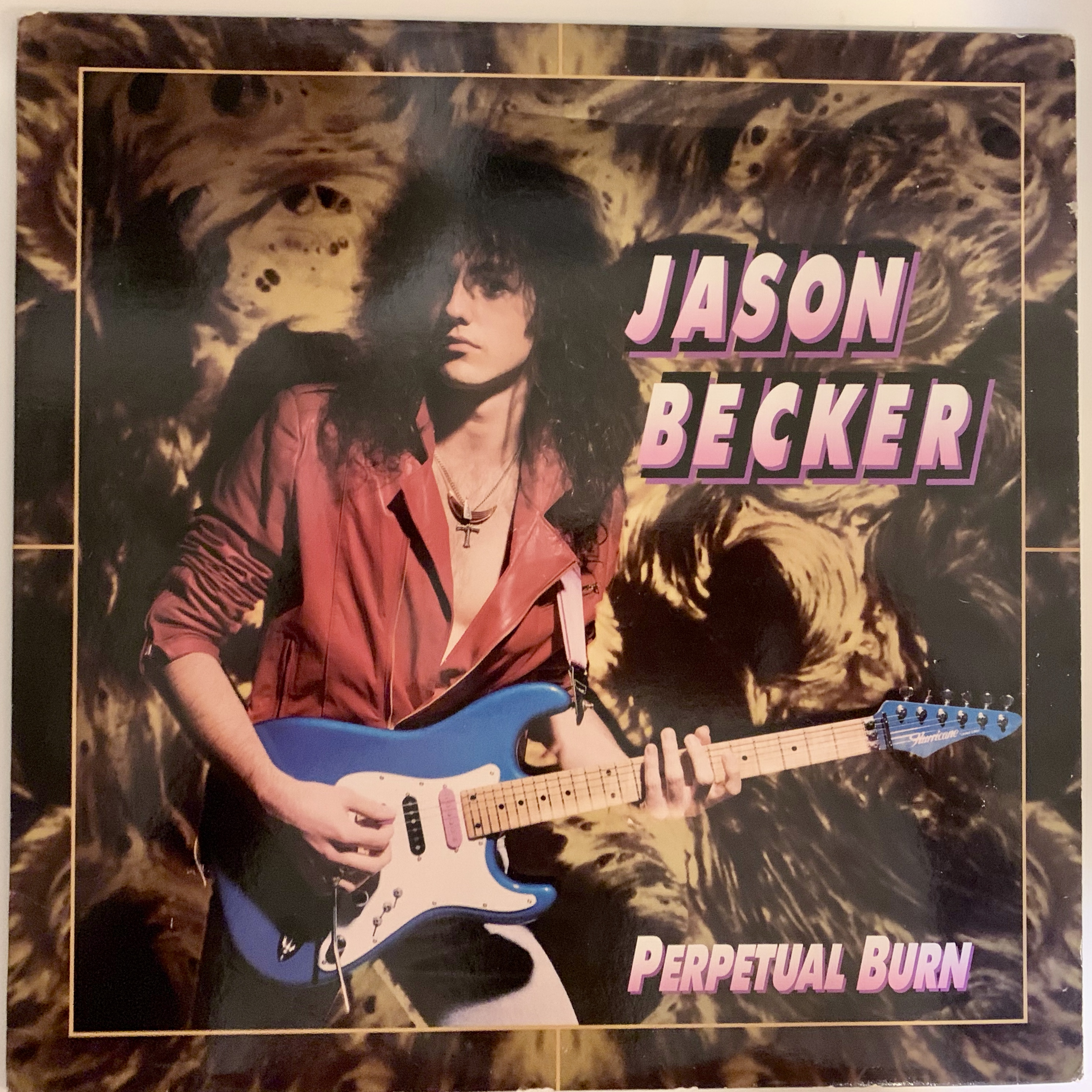 Jason Becker - Perpetual Burn 1988 Vinyl