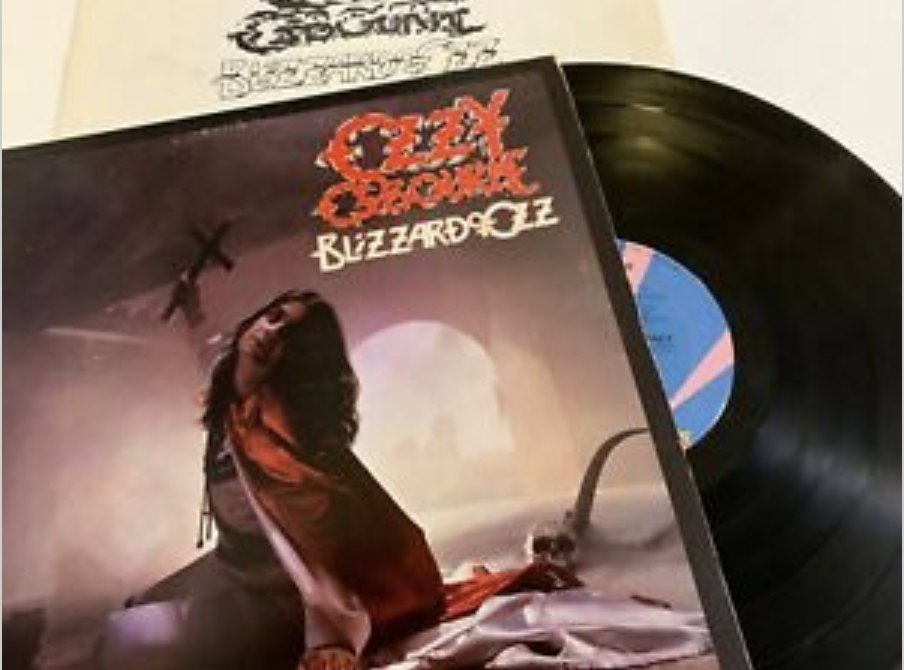 Ozzy blizzard of oz