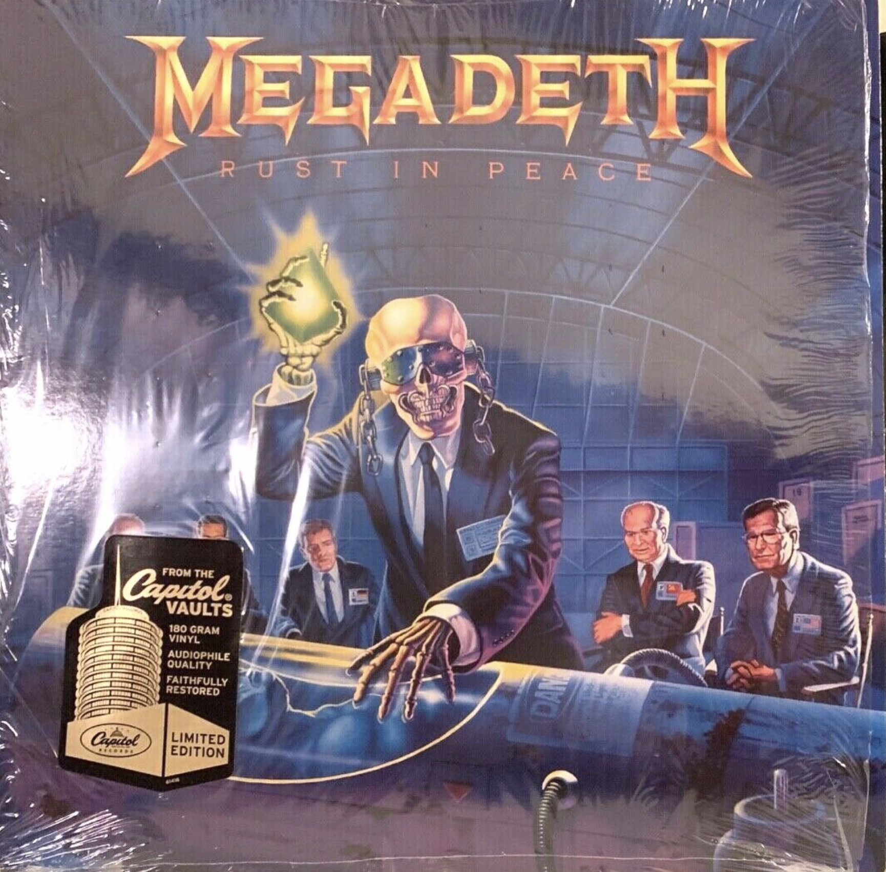 Megadeth rust in peace album