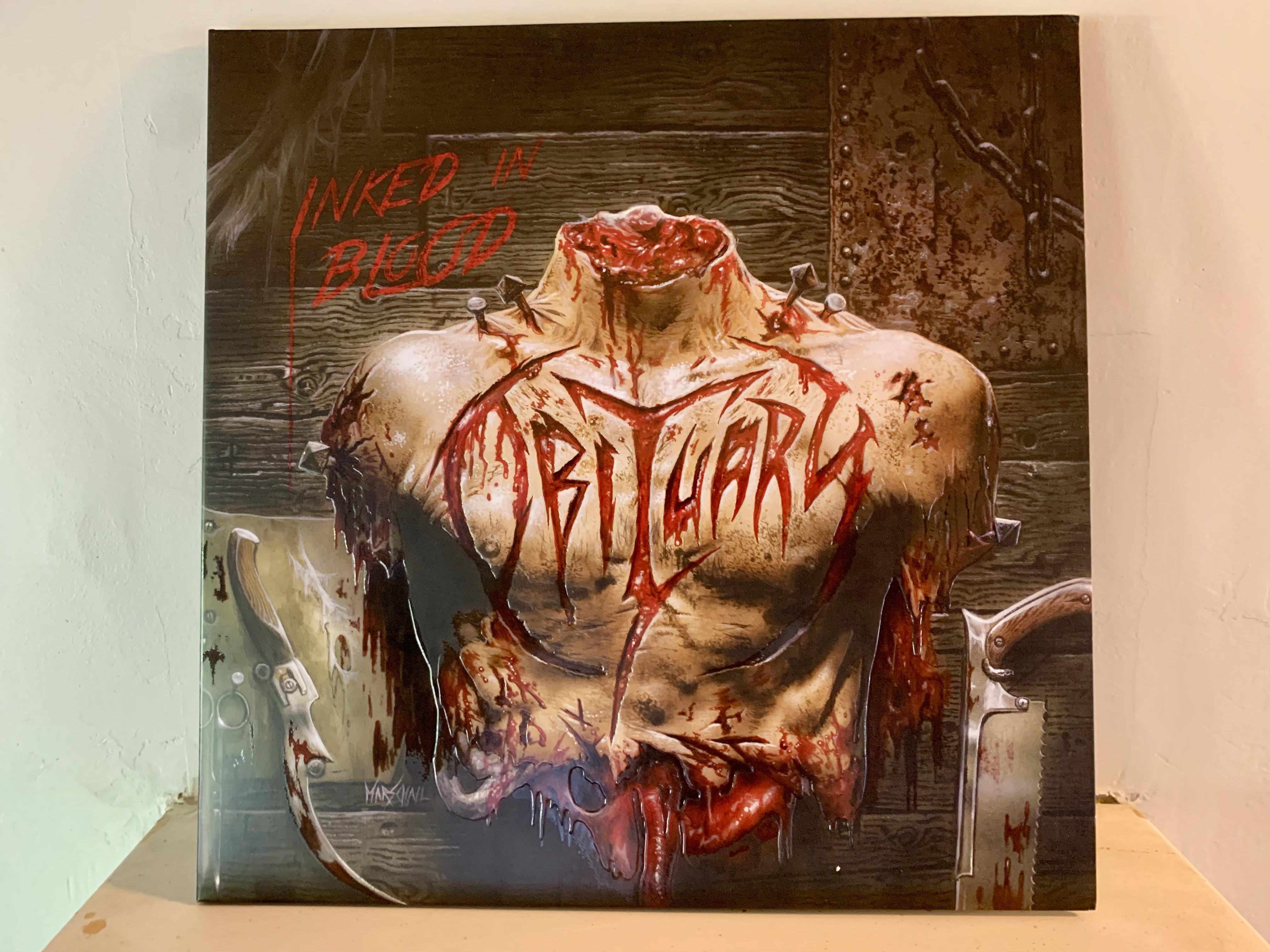 obituary vinyl