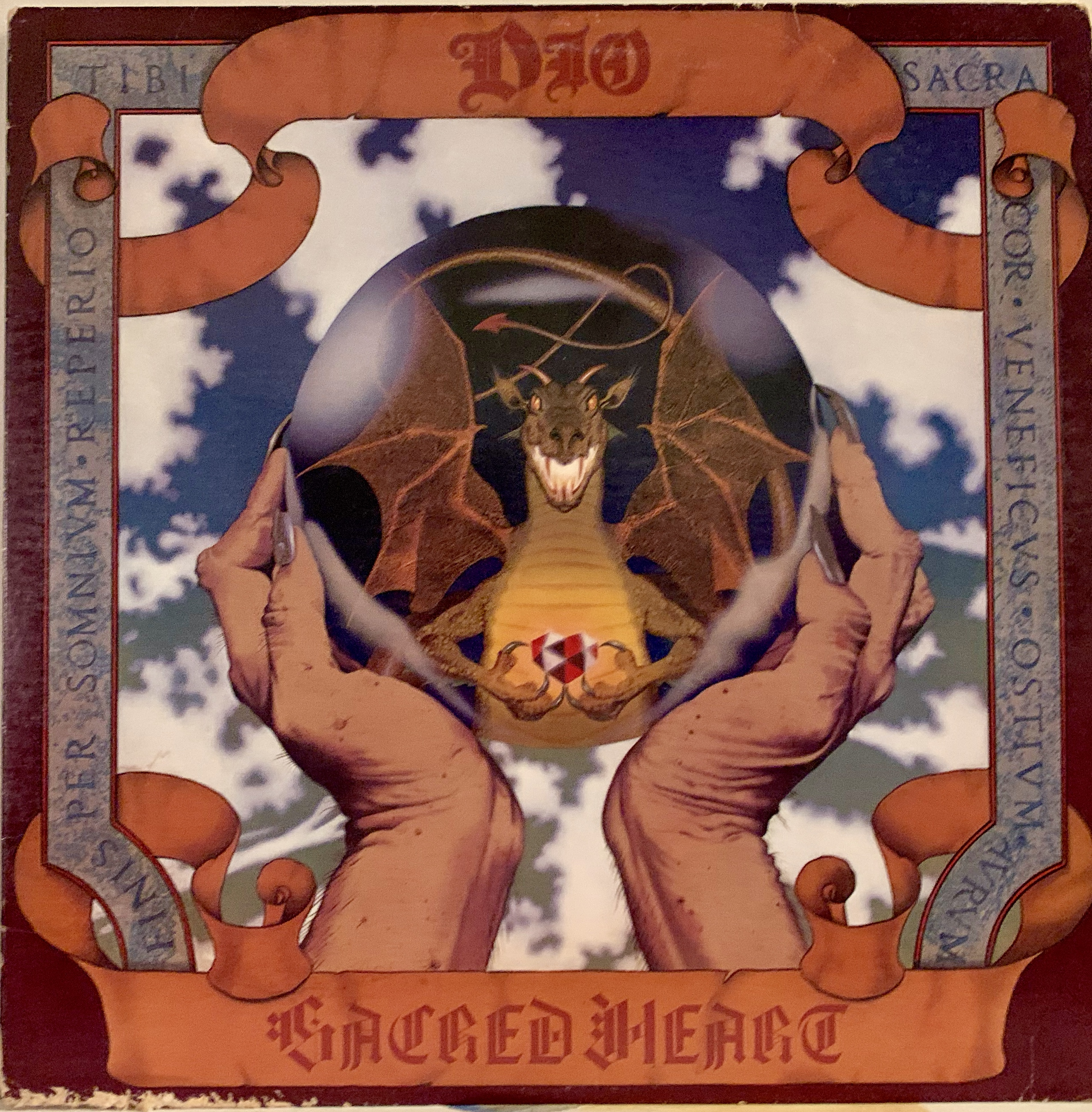DIO SACRED HEART ALBUM
