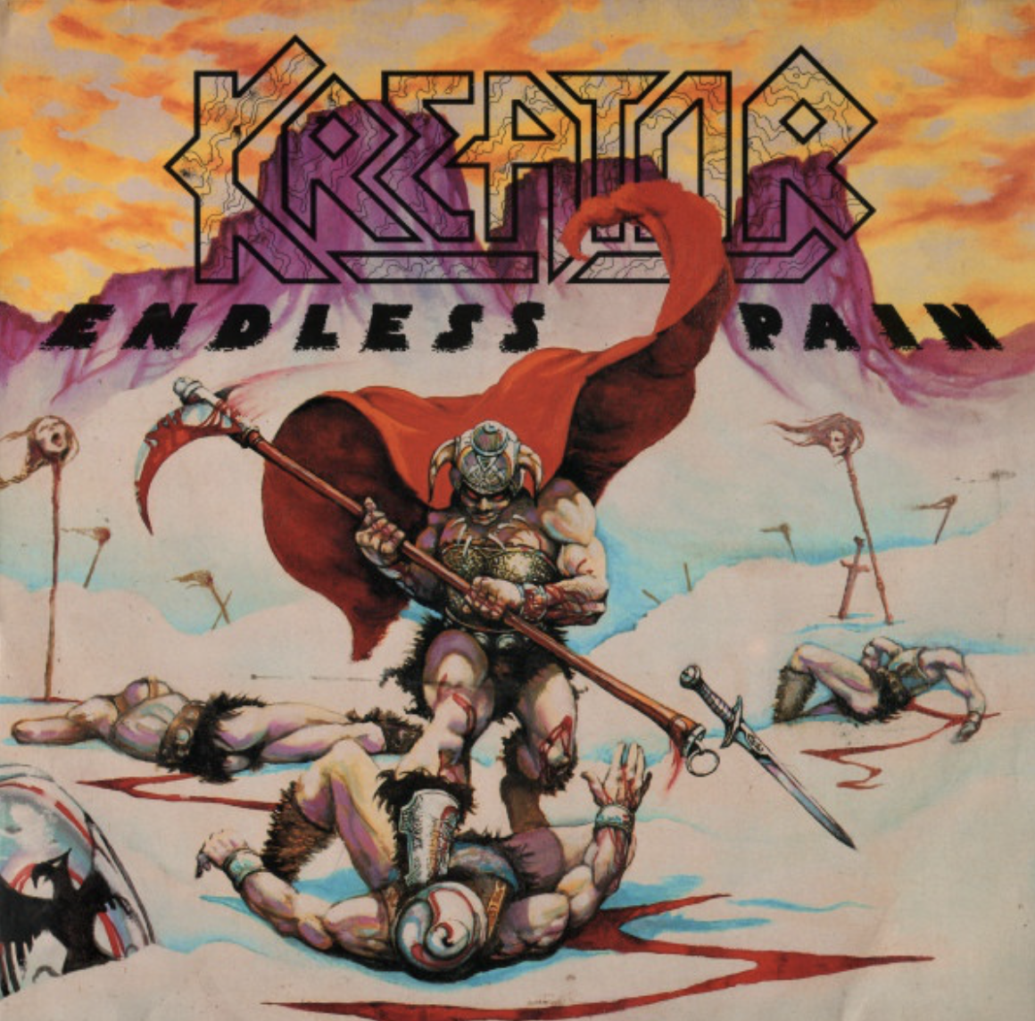Kreator - Endless Pain 2017 2x LP Reissue 180G Gatefold - German Thrash Metal