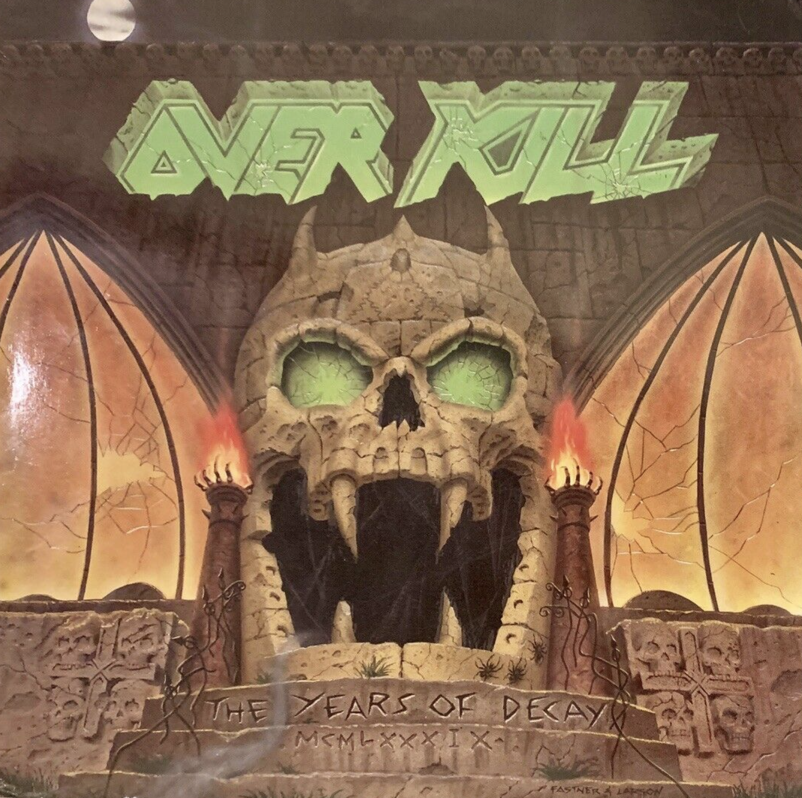 overkill years of decay cover