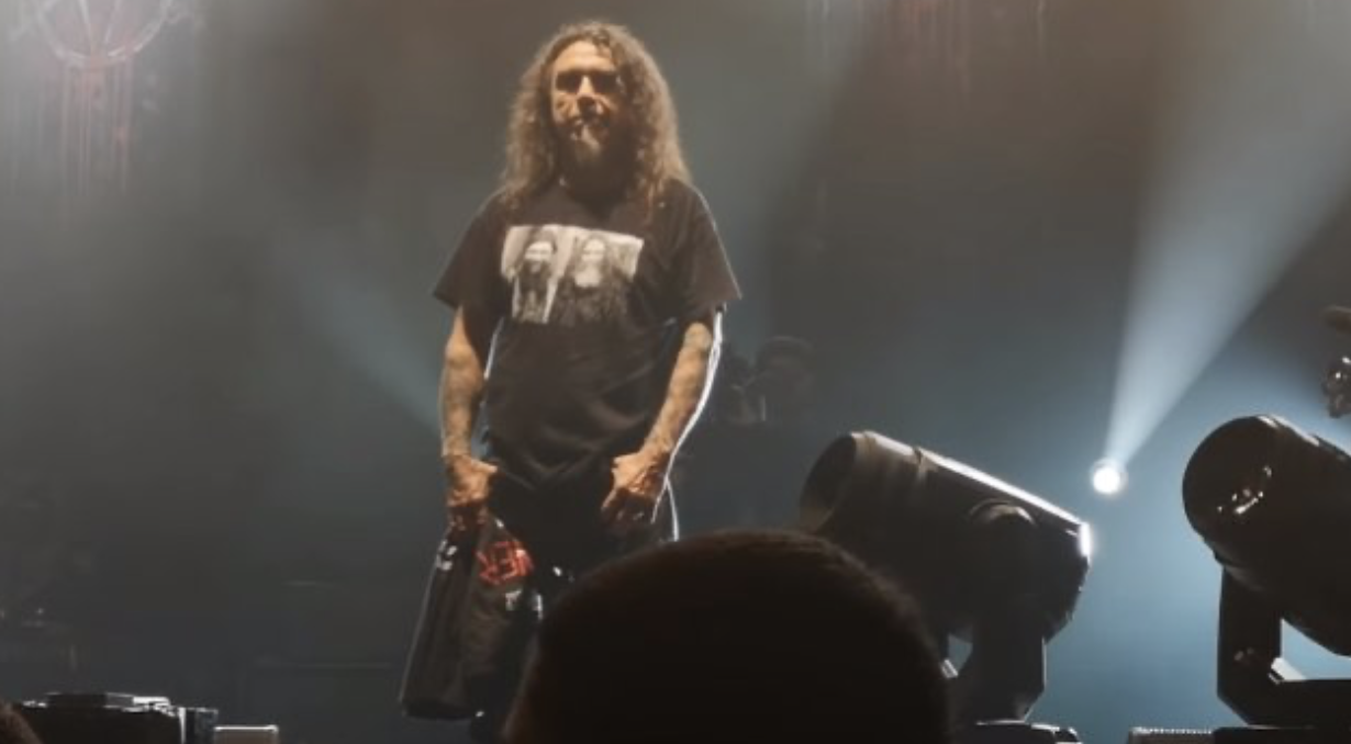 the final moments of slayer Los Angeles forum - tom arrays
