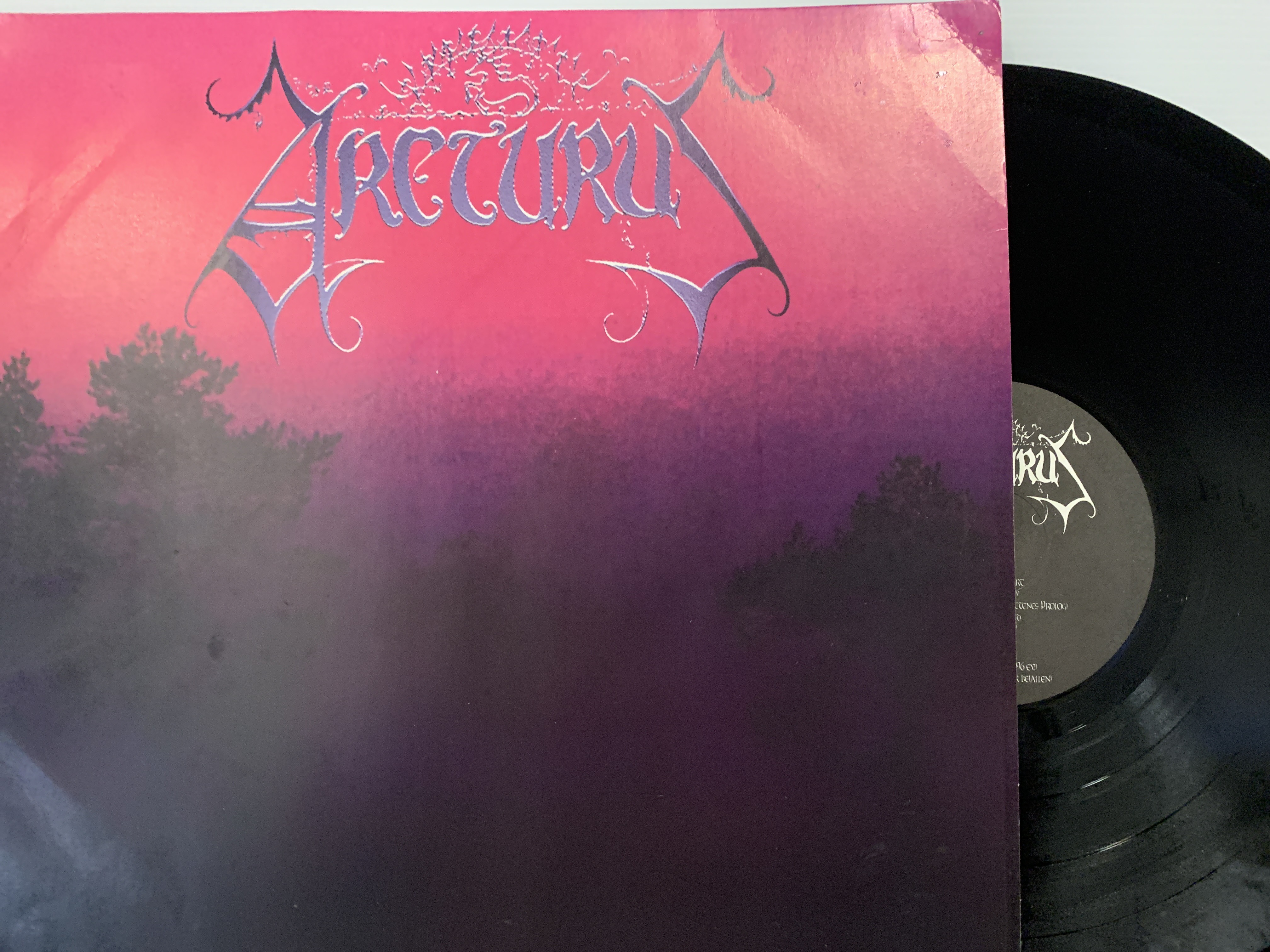 Arcturus ‎– Constellation LP 1997 Nocturnal Art Productions ‎ECLIPSE006