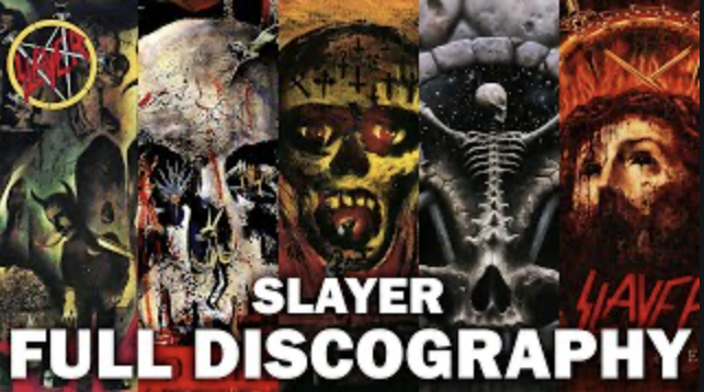 Sla̲y̲e̲r - Full Discography HQ