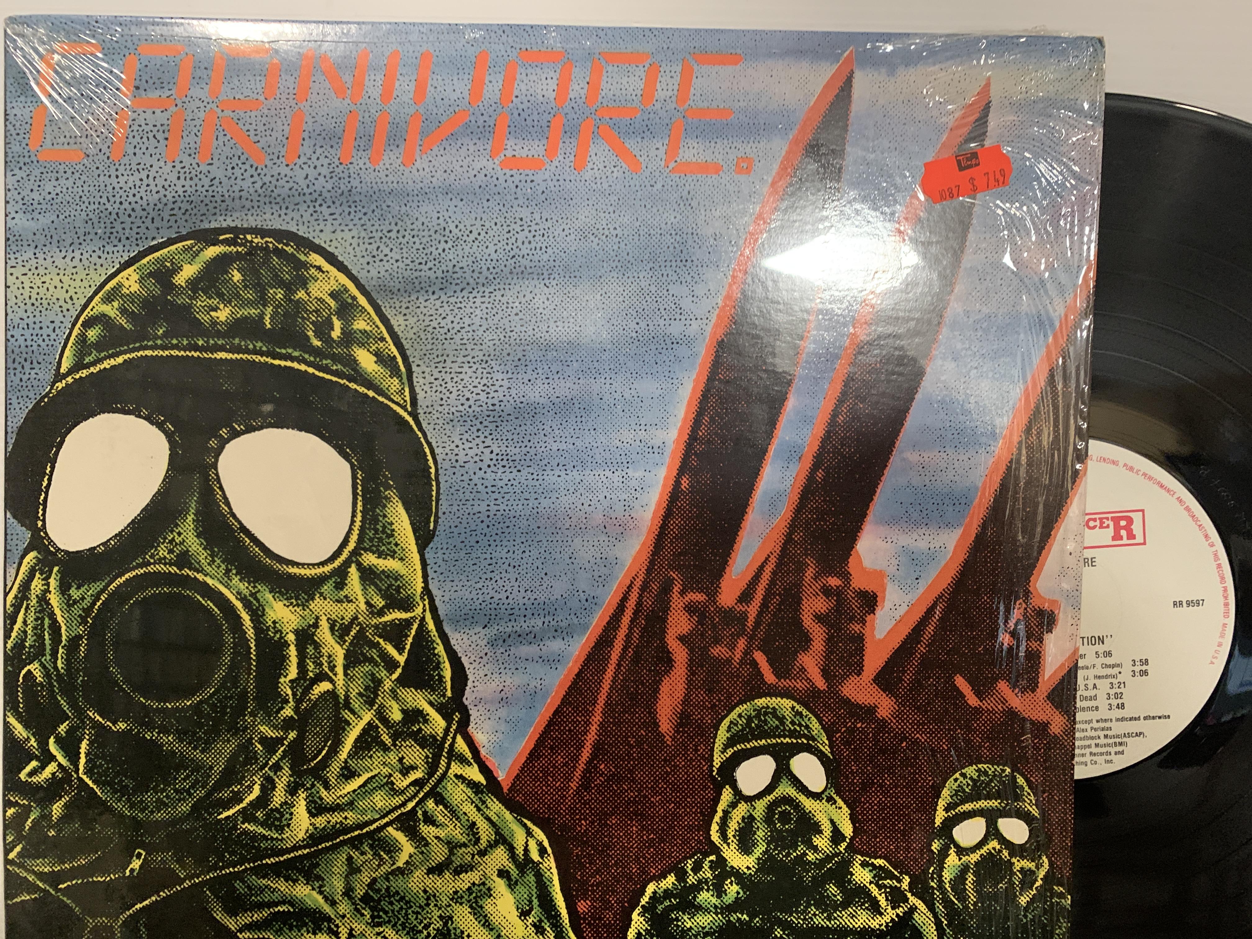 Carnivore-–-Retaliation-LP-1987-Roadracer-Records-–-RR-9597-EXEX-In-OG-Shrink